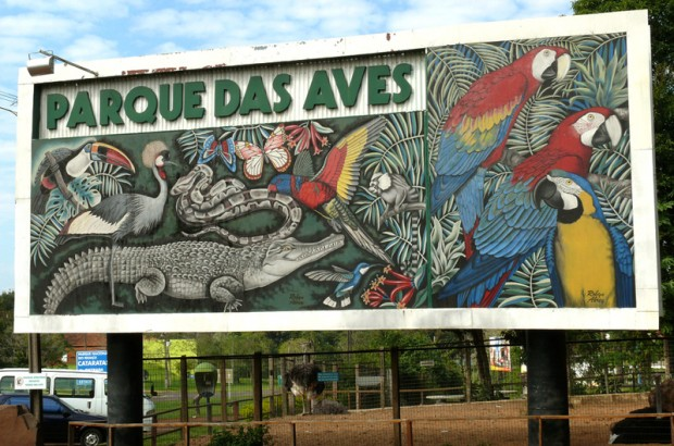 Entrada do Parque das Aves - Foz do Iguaçu, PR