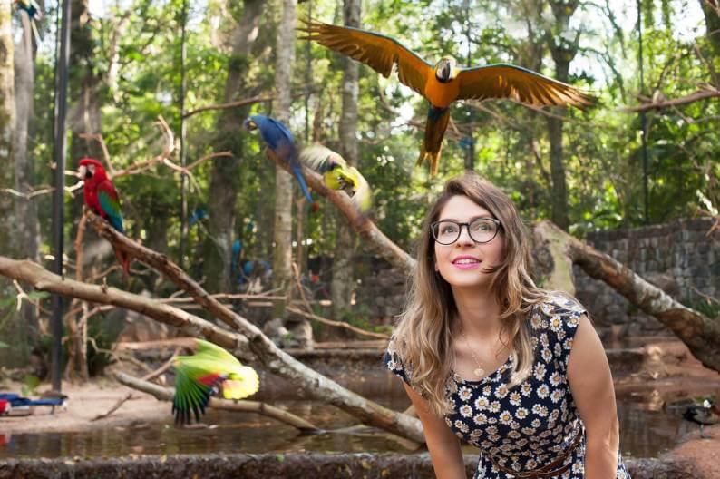 Parque das Aves em Foz do Iguaçu (Foto: Divulgação / Parque das Aves)