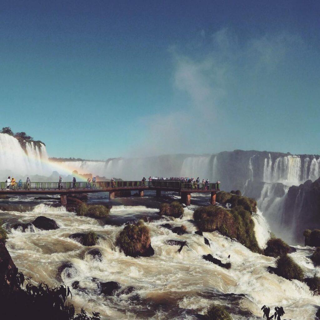 Cataratas do Iguaçu, em Foz do Iguaçu