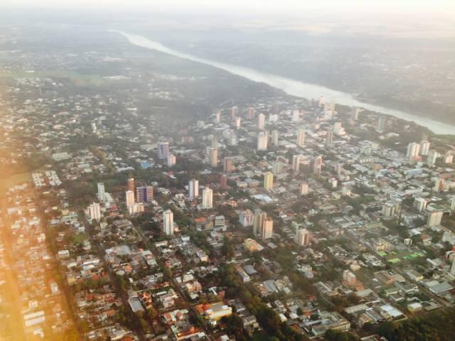100 anos de Foz do Iguaçu - Centro da cidade