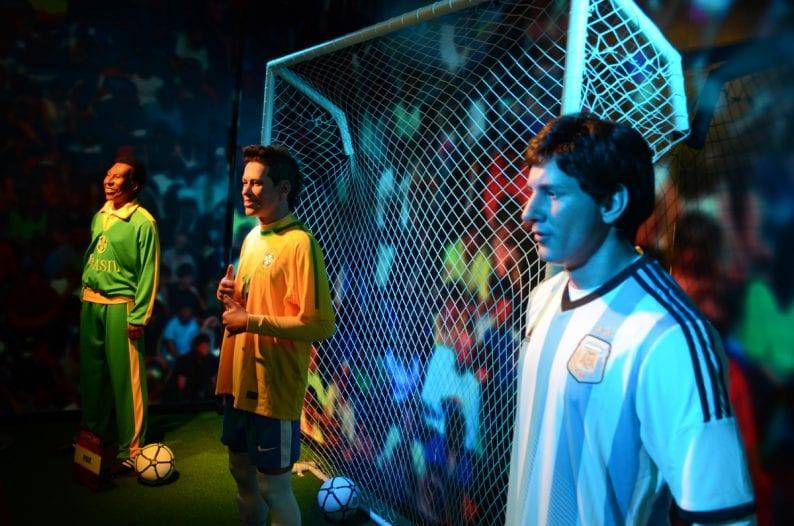 Personalidades del fútbol en Museo de Cera Dreamland