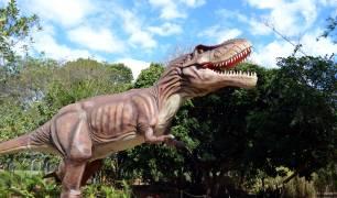 Vale dos Dinossauros em Foz do Iguaçu