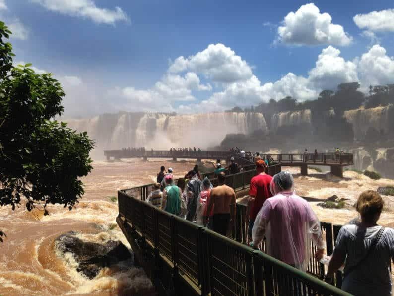 Cataratas do Iguaçu - Entrada da Passarela